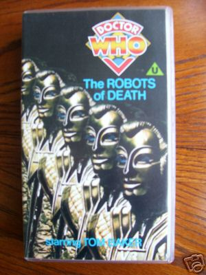 Doctor Who  The Robots of Death (RARE)