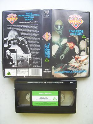Doctor Who The Seeds of Death Green Label  Patrick Troughton