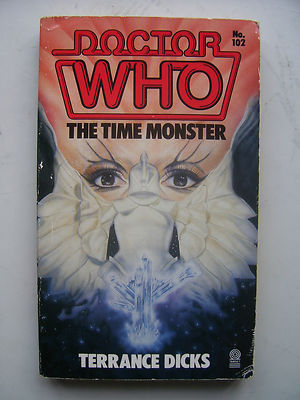 Doctor Who The Time Monster Target Book RARE