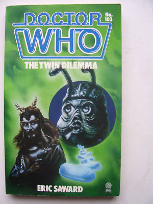 Doctor Who The Twin Dilemma  RARE