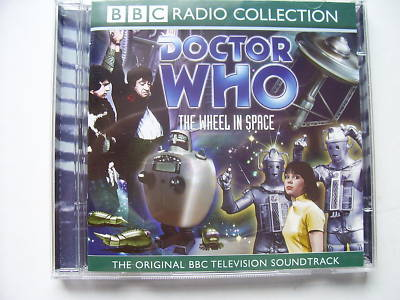 Doctor Who The Wheel in Space CD Audio Soundtrack