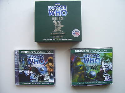 Doctor Who The Yeti Attack ! Limited CD Audio Set  RARE