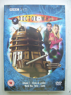 Doctor Who  Volume 2 DVD Christopher Eccleston