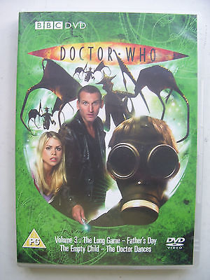 Doctor Who  Volume 3 DVD Christopher Eccleston