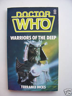 Doctor Who Warriors of the Deep ...Rare
