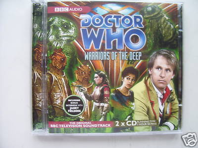 Doctor Who Warriors of the Deep CD Audio Soundtrack