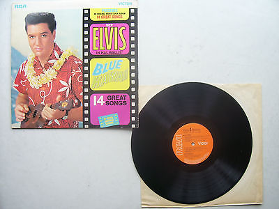 Elvis Presley Blue Hawaii Original 1970s Pressing Including Sleeve