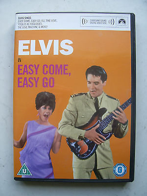 Elvis Presley Easy Come Easy Go  DVD