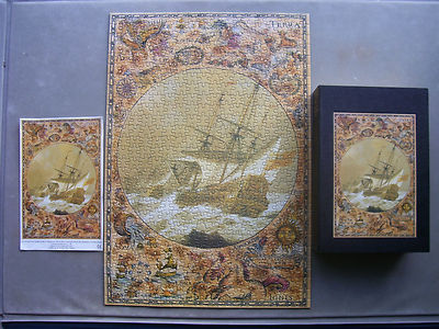 English Galleon  500 Piece Jigsaw by Marks and Spencer