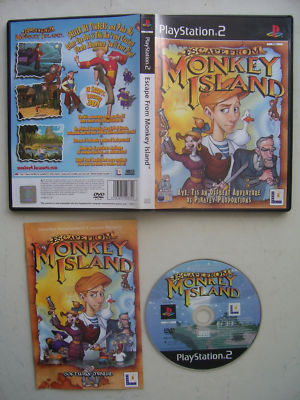Escape from Monkey Island PS2 Game