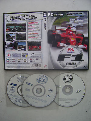 F1 2001 Limited Edition Pack Includes F1 Manager PC
