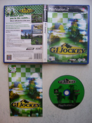G1 Jockey PS2 Game