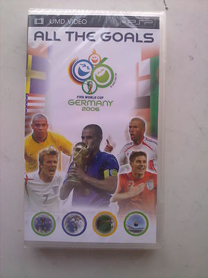 Germany World Cup 2006 All the Goals  UMD PSP