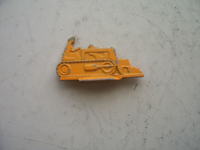 Monopoly Bulldozer Playing Piece 1950s Edition