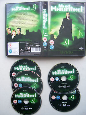 Most Haunted The Complete Series 9.....  5 DVD Box Set