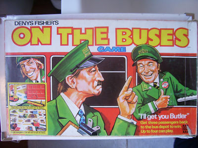On the Buses Game By Denys Fisher 1970s