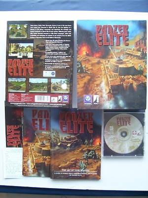 Panzer Elite PC Big Box Edition  RARE