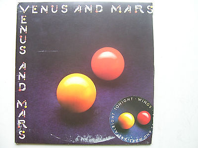 Paul McCartney and Wings Venus and Mars LP