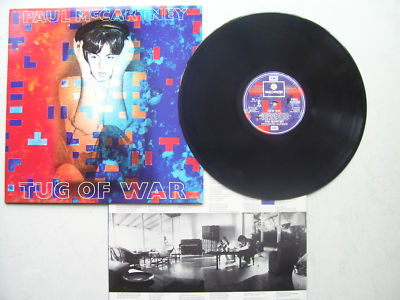 Paul McCartney Tug of War LP