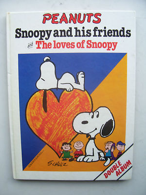 Peanuts, Snoopy and Friends by Schulz 1980 Very Rare  Hardback