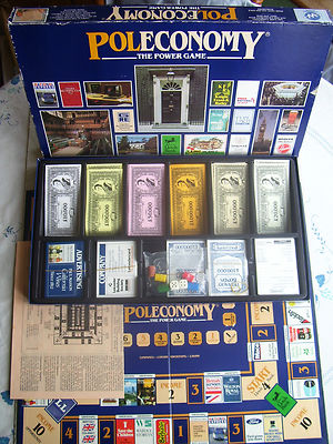 Poleconomy The Power Game By Woodrush Games1987