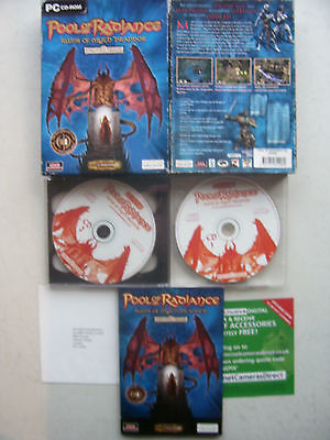 Pool of Radiance Ruins of Myth Drannor PC Big Box Edition