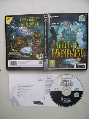 Ravenhearst Mystery Case Files Hidden Object PC Game