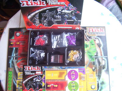 Risk Transformers Cybertron Battle Edition New