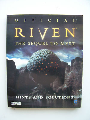 Riven The Sequel to Myst  Strategy Guide