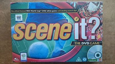 Scene It FIFA  World Cup  DVD Game  By Mattel 2006  NEW AND SEALED