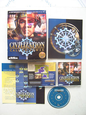 Sid Meier's Civilization Call to Power PC Game Big Box Edition