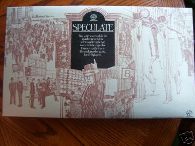 Speculate .. Board Game  By Waddingtons Very Rare