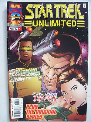 Star Trek Unlimited Marvel Comics Issue 4 1997 Very Rare