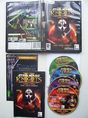 Star Wars Knights of the Old Republic The Sith Lords PC