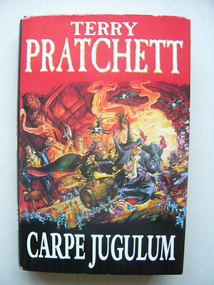 Terry Pratchett Carpe Jugulum  A Discworld Novel  Hardback