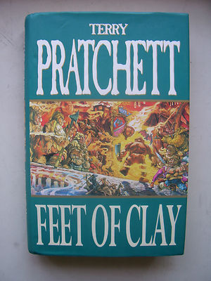 Terry Pratchett Feet of Clay  A Discworld Novel  Hardback