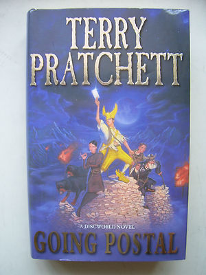 Terry Pratchett Going Postal  A Discworld Novel  Hardback