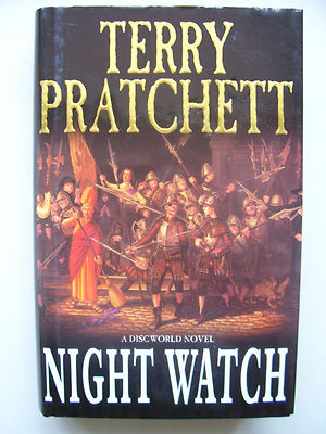 Terry Pratchett Night Watch  A Discworld Novel  Hardback