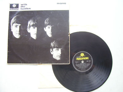 The Beatles With the Beatles LP 1960s Pressing
