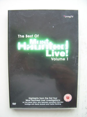 The Best of Most Haunted Live Volume 1  DVD