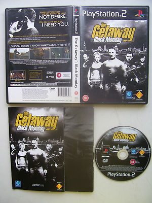 The Getaway Black Monday PS2 Game