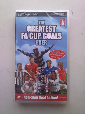 The Greatest FA Cup Goals Ever UMD PSP