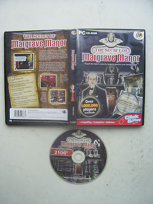 The Secrets of Margrave Manor Hidden Object PC Game