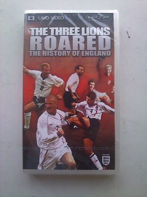 The Three Lions Roared, The History of England  UMD PSP