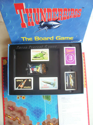 Thunderbirds The Board Game By  Carlton 1999