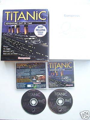 Titanic Adventure out of Time PC  Big Box Edt   RARE