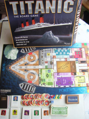 Titanic  Board Game....(RARE)