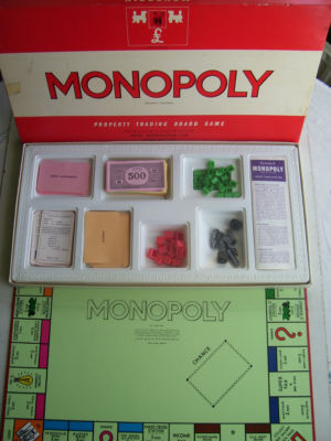 Vintage Monopoly Game by Waddingtons 1972 Edition