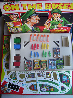 Vintage On the Buses Game By Denys Fisher 1970s