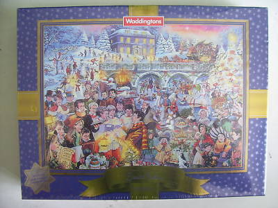 Waddingtons Limited Edition Christmas Jigsaw SEALED